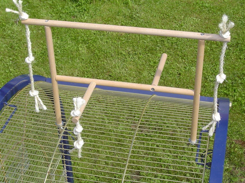 Wellensittich Klettergerüst : Pipano anfluggerüst klettergerüst mit sisal sitzstange 12 mm