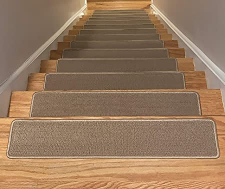 Set of 13 Beautiful Carpet Stair Mat Stair Treads LIMITED TIME OFFER!