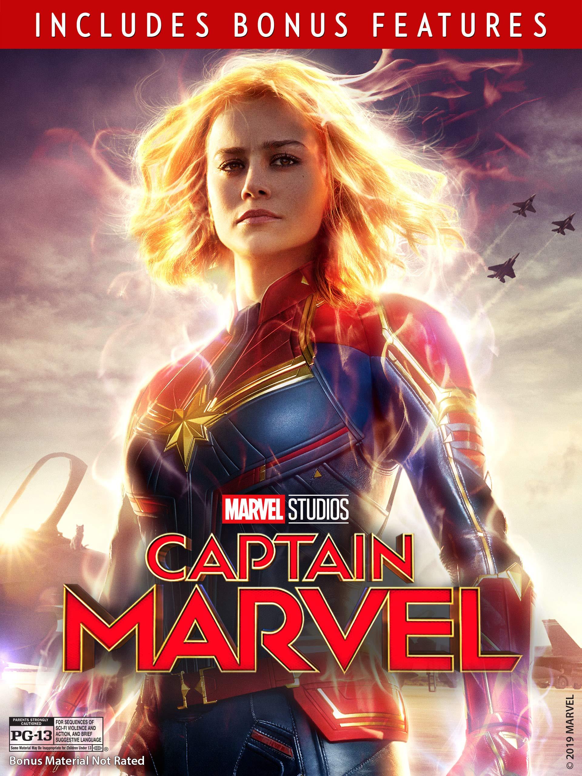 Watch Marvel Studios Captain Marvel Plus Bonus Content