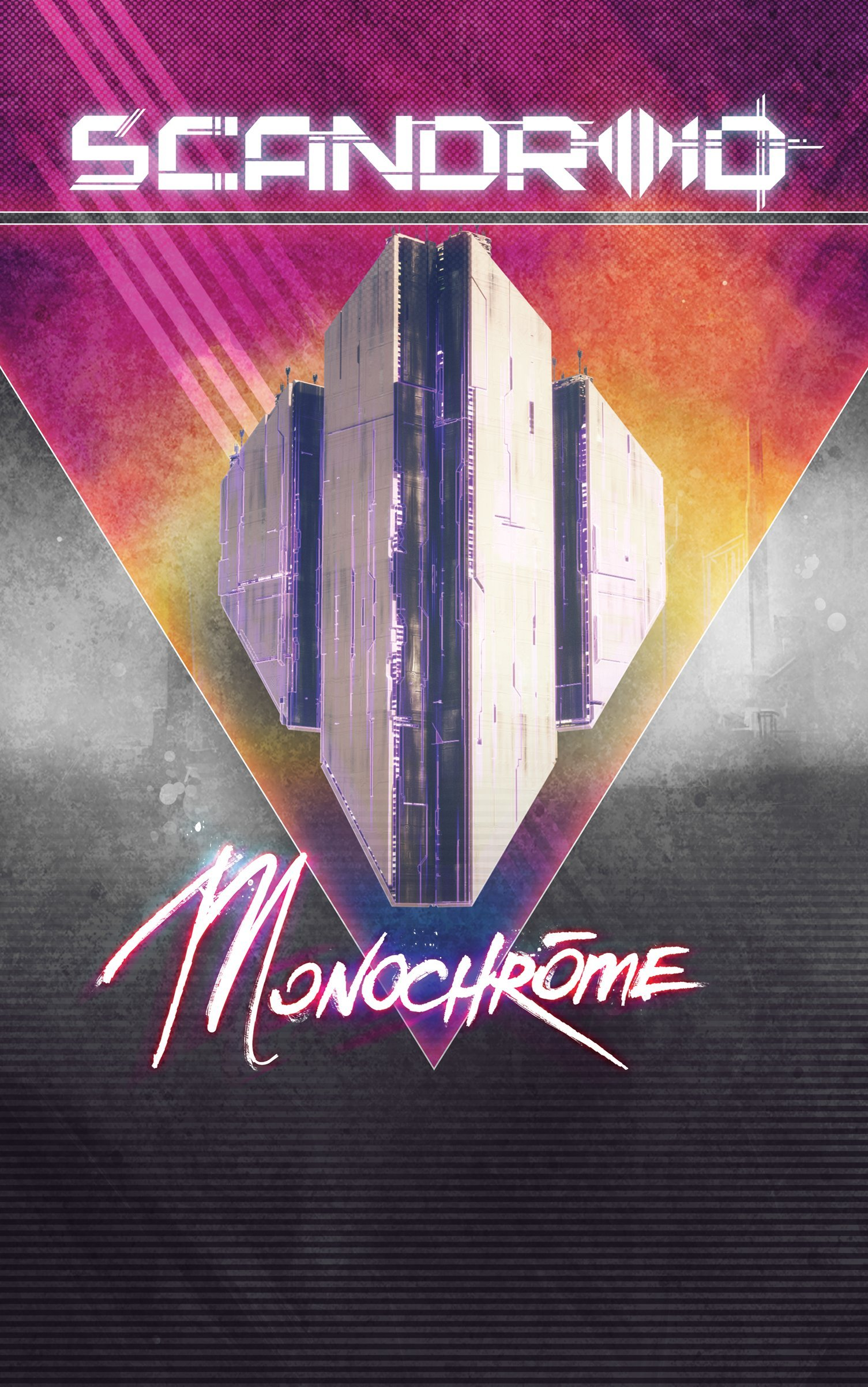 Cassette : SCANDROID - Monochrome (Cassette)