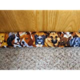"Door Draft, Light, Dust, Noise, Odor Stopper, 3"" X 38"" All Natural Unscented - Big Dogs"