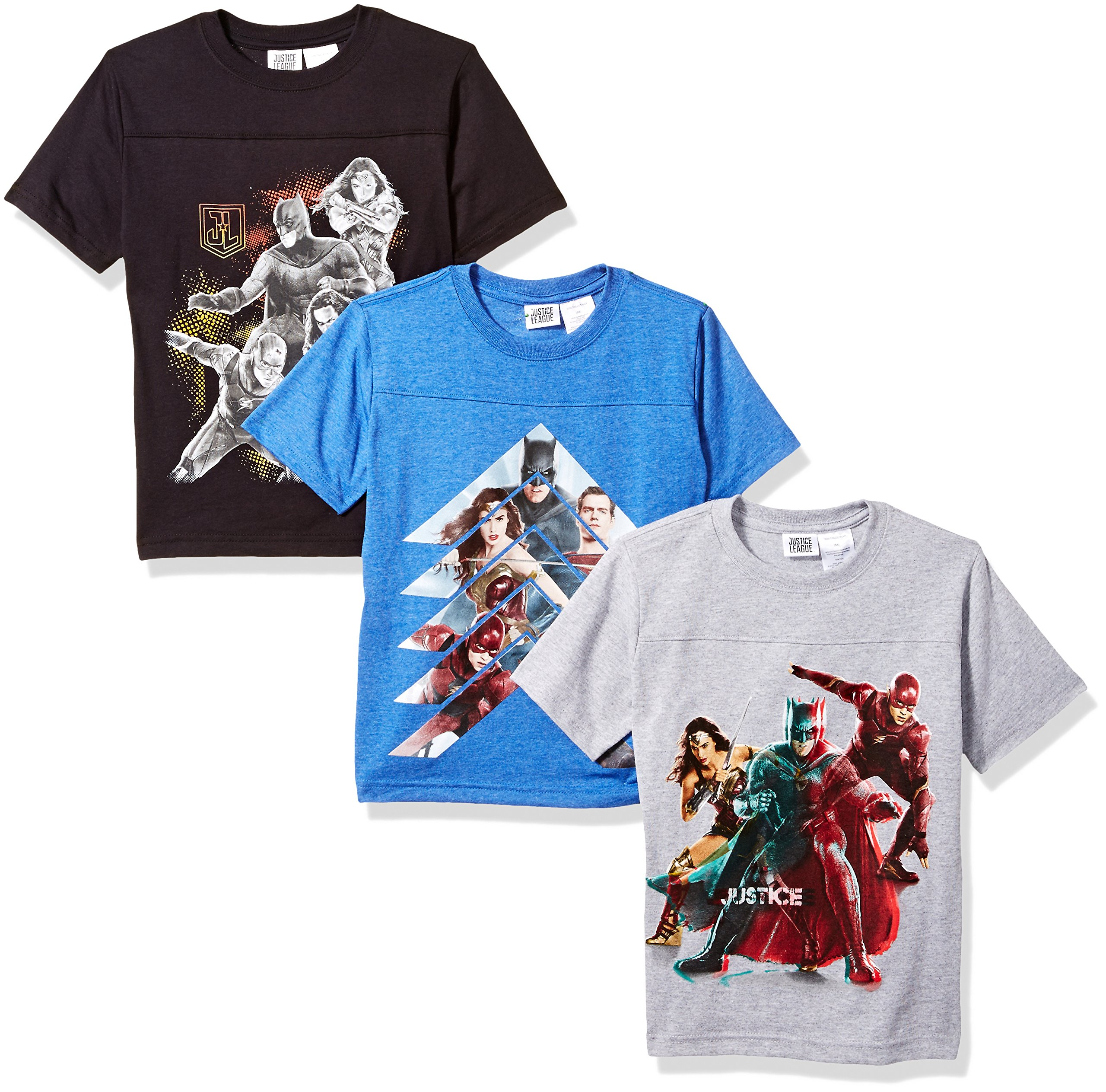 DC Comics Justice League 3 Pack Tees
