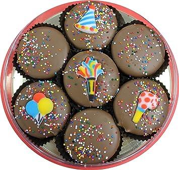 Milk Chocolate Dipped Oreos Decorated With A Birthday Theme7 Oreo Assortment