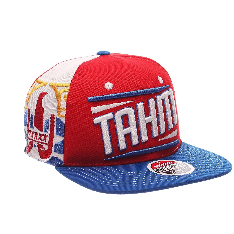 One Size Baseball Hat Flat Bill Zephyr Country Flag Soccer Victory Snapback Cap Adjustable