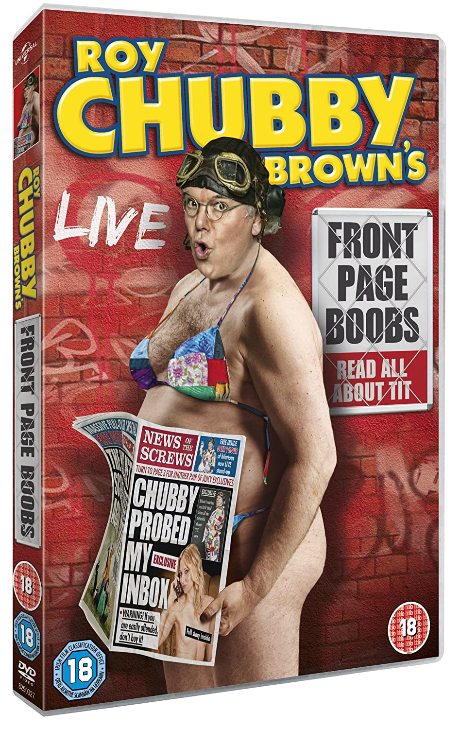 Roy Chubby Brown's Front Page Boobs [DVD]: Amazon.co.uk: Roy 'Chubby ...