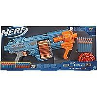 Nerf Elite 2.0 Shockwave RD-15-blaster, 30 Nerf-darts, draaiende trommel met 15 darts, pompactie voor spervuur…