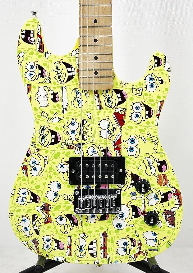 Spongebob Bob Esponja - Pack Completo Guitarra eléctrica sbe78oft: Amazon.es: Instrumentos musicales