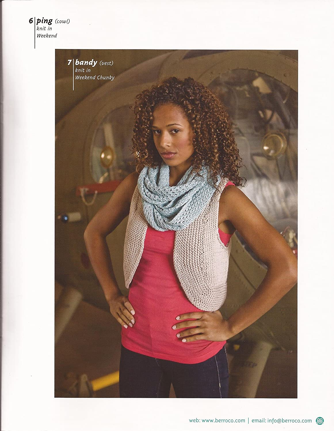 Berroco Book 309 Weekend and Weekend Chunky Knitting Pattern Book