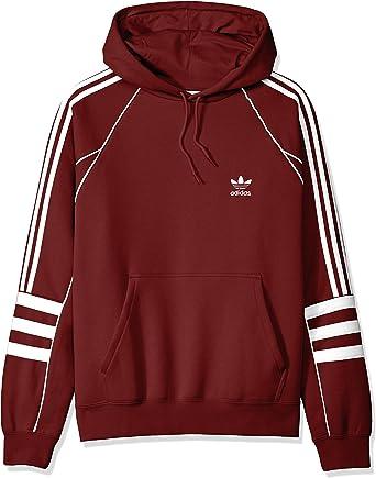 Details zu adidas Männer Hoody rot, Herren Kapuzenpulli, Zip