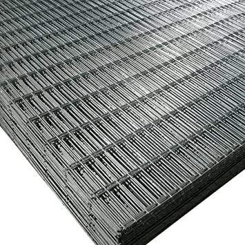 Welded wire mesh panel 6ft x 3ft 12 gauge 25mm wire 3x1 holes welded wire mesh panel 6ft x 3ft 12 gauge 25mm wire 3x1quot greentooth Image collections