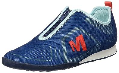 Merrell Civet Zip, Baskets Basses Femme, (Mykonos Blue), 36 EU