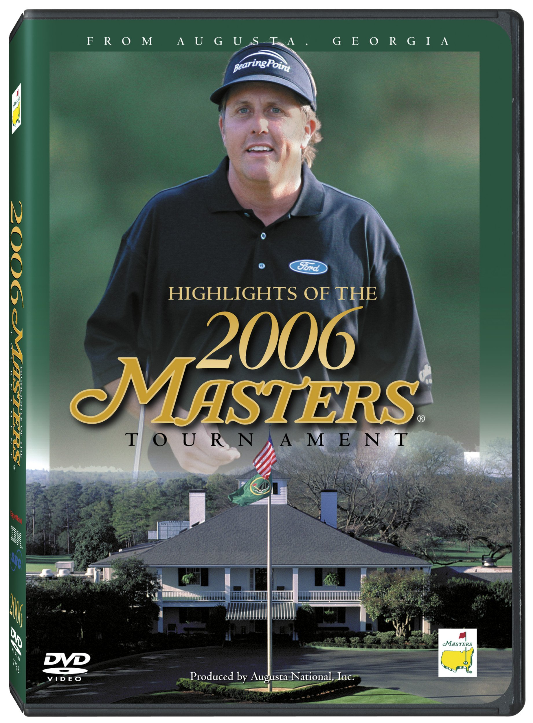 DVD : Highlights Of The 2006 Masters Tournament (DVD)