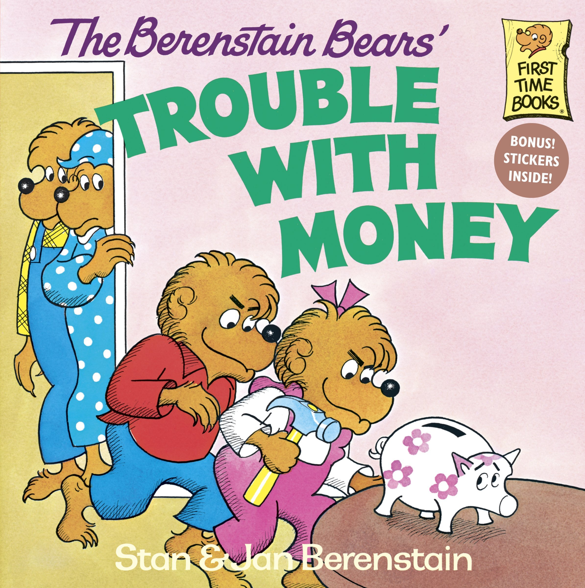 The berenstain bears trouble with money stan berenstain jan berenstain 8601421775328 amazon com books