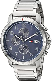 1f0ffecf243 Tommy Hilfiger Men s Casual Sport Quartz Watch with Stainless-Steel Strap