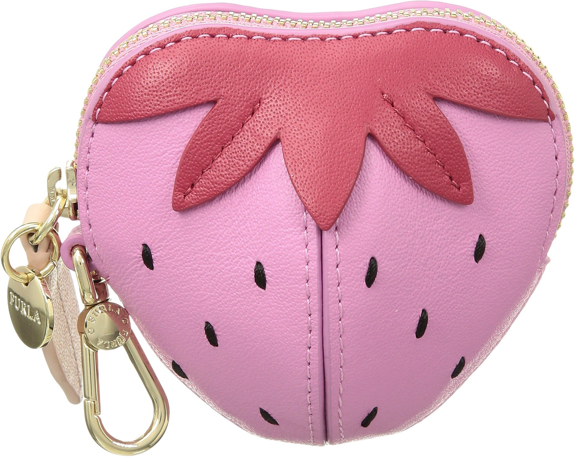 Furla Women's Golosa Small Coin Case Fragola Orchidea One Size