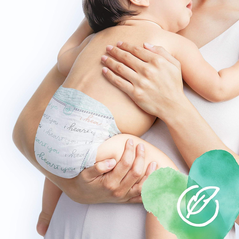 Pampers Pure Protection 81690519 pa/ñal desechable Ni/ño//ni/ña 4 160 pieza s Ni/ño//ni/ña, Tape diaper, 9 kg, 14 kg, Turquesa, Blanco, Velcro - Pa/ñales desechables
