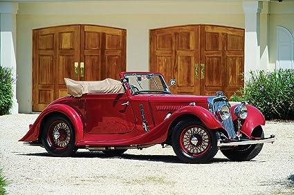 Amazon Com Aston Martin 15 98 Short Chassis Drophead Coupe 1937