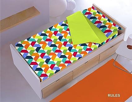 Saco Nórdica CON Relleno ref. RULES para cama de 70 x 160 cm.