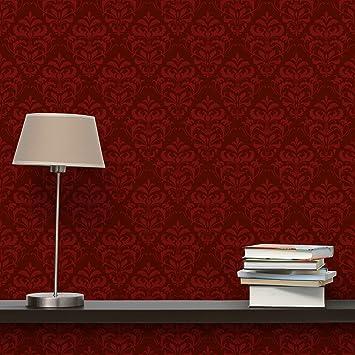 Tapeten Schlafzimmer Rot