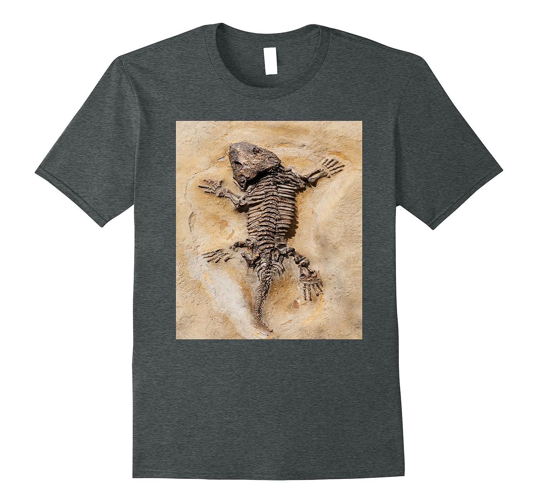 Dinosaur Fossil Archaeology Fossil Anatomy T Shirt-PL – Polozatee