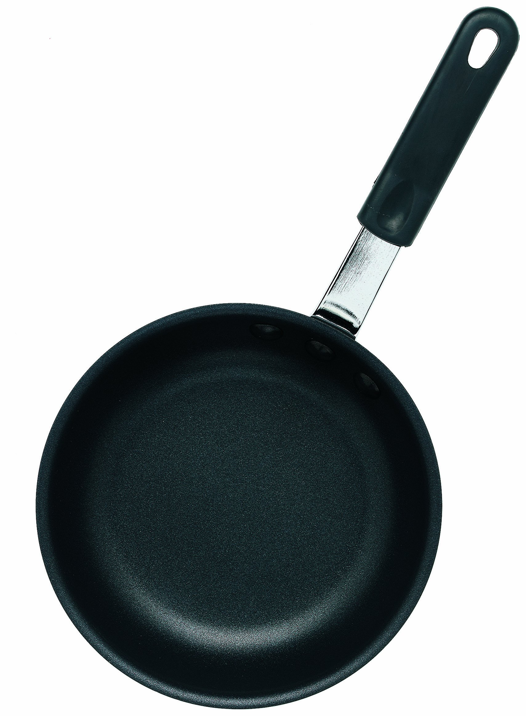 Crestware 7-1/2-Inch Black Pearl Anodized Fry Pans with DuPont Platinum Pro Coating with Molded Handle