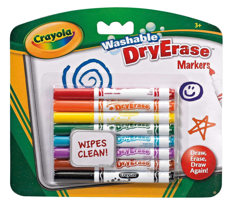 Crayola 8 Lavagna a secco Asciugare Cancella Penne VIVID EUROPE 98-2002
