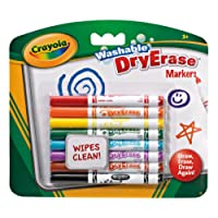 Crayola - Dry Erase Washable Dry Erase Markers