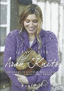 1ed56fddf4f5 Sirdar Hayfield Bonus Aran Aran Tweed Knitting Pattern Book - 503 14  Favourite Aran Knits for…