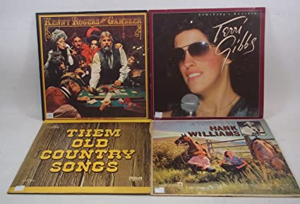country music vinyl record albums