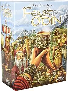 Z Man Spiele zmg71690 A Fest für Odin - Juego de Mesa (Contenido ...