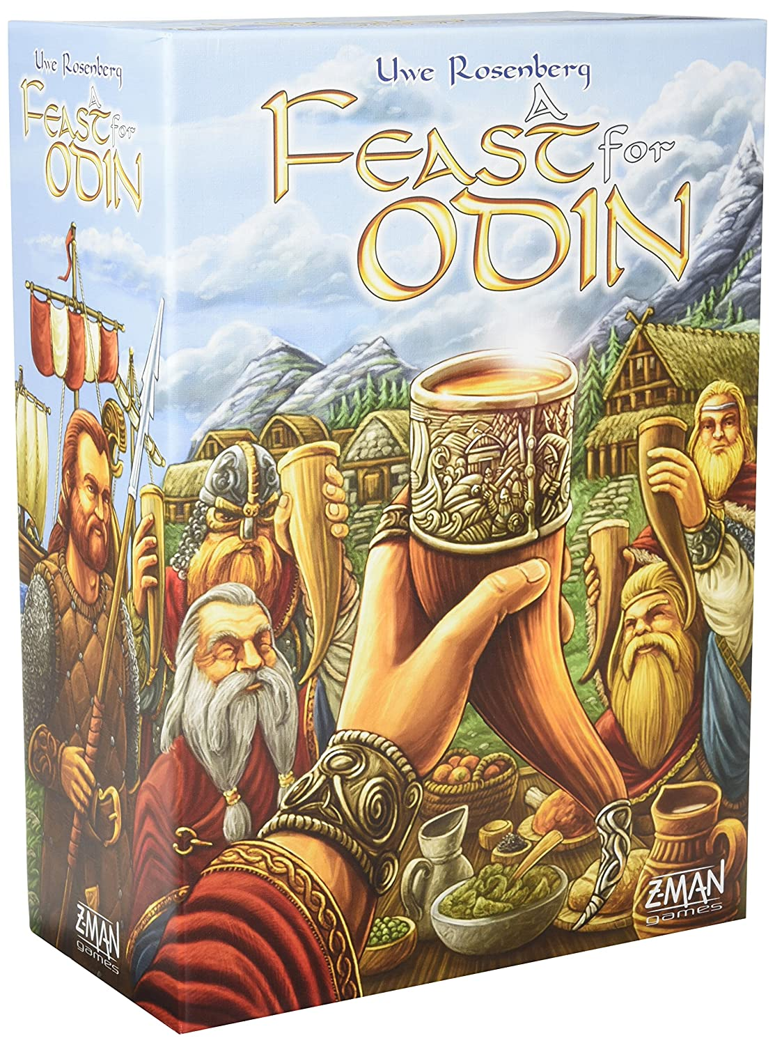 Z-Man Games Feast For Odin - English