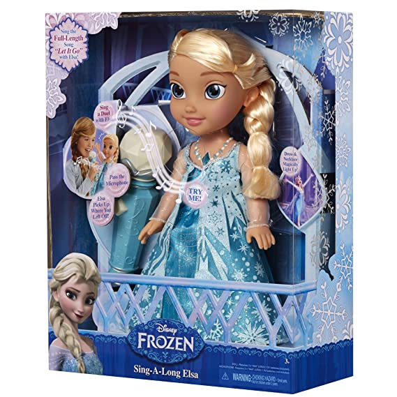 Prima Frozen Sing-a-Long with Elsa Doll: Amazon.co.uk: Toys & Games CR-42
