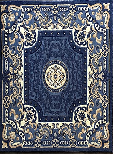 Traditional Area Rug Blue Design 101 8ft.X10ft.6in.