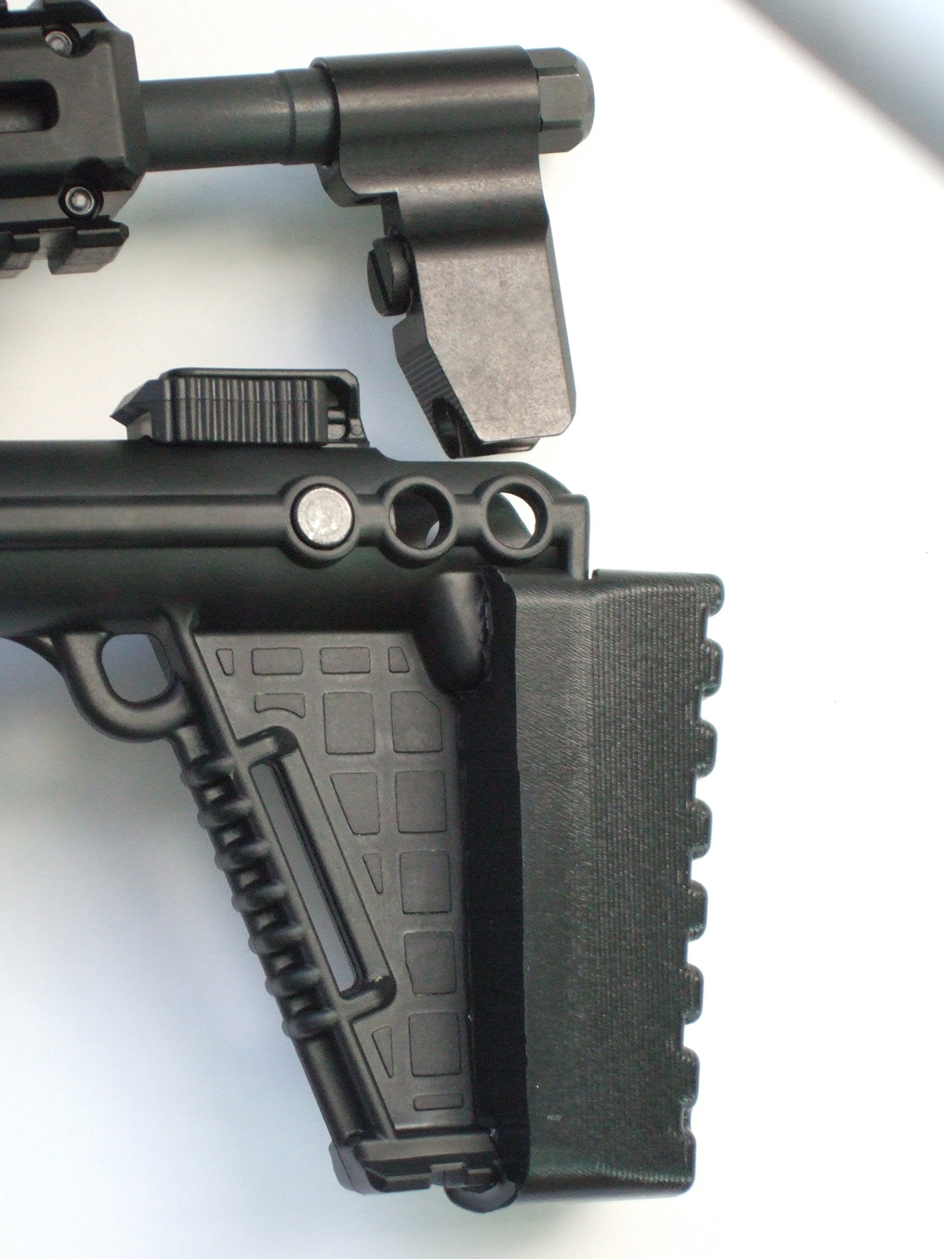 Custom Recoil Pad ''Gen 2'' With/sight Pocket, Exclusively for the KT Sub2000 (Generation 2) Foldable Carbine.