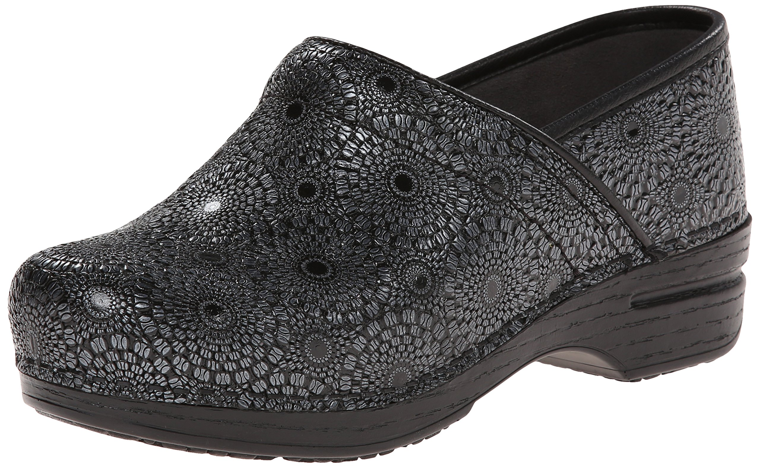 Dansko Women's Pro XP Mule, Black Medallion Patent, 40 EU/9.5-10 M US