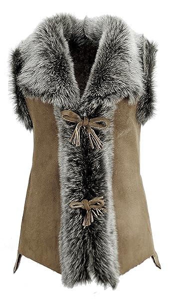 DX-Exclusive wear - Chaleco - Parka - para Mujer  Amazon.es  Ropa y  accesorios 5e7cf733c462