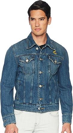 Amazon.com  Vivienne Westwood Men s Anglomania New D Ace Jacket Blue ... e566e1548