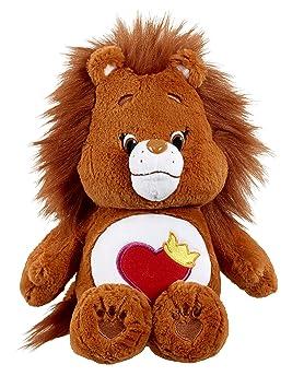 Vivid Imaginations Care Bears Primos Brave Corazón León de peluche con DVD (Tamaño Mediano)