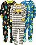 Simple Joys by Carter's - Pijama de algodón para bebé y niño (3 Unidades)