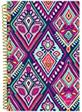 """bloom daily planners 2017-18 Academic Year Daily Planner - Passion/Goal Organizer - Monthly and Weekly Datebook and Calendar - August 2017 - July 2018 - 6"""" x 8.25"""" - Bohemian Ikat"""