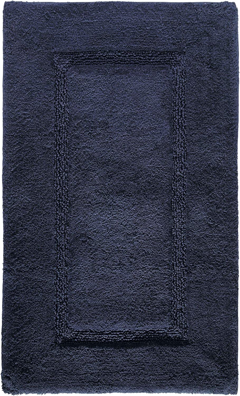 53,3 cm x 86,4 cm iDesign SPA Alfombrilla de ba/ño Suave Beige Alfombra Rectangular de algod/ón