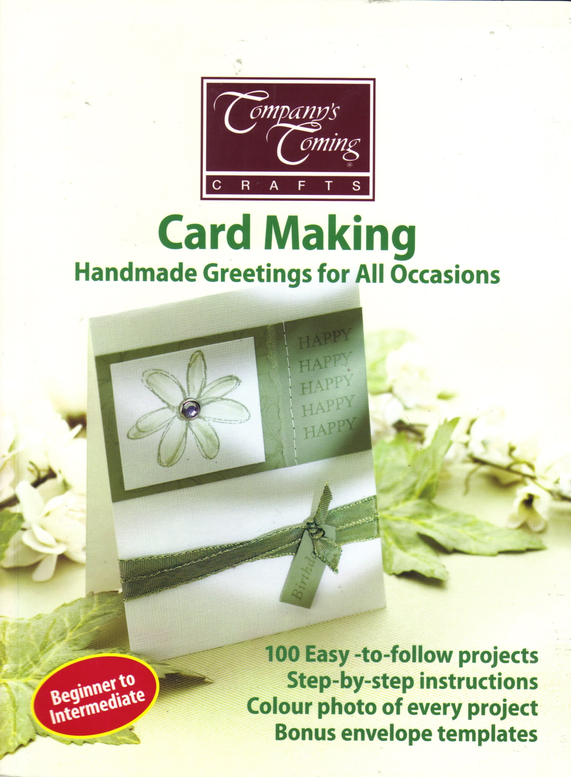 Card Making Handmade Greetings For All Occasions Companys Coming