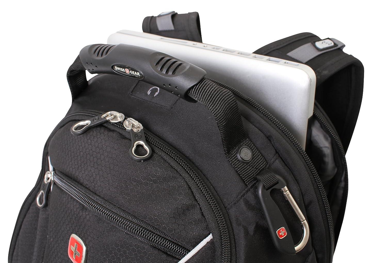 Amazon.com: Swiss Gear SA3181 Black Computer Backpack - Fits Most ...