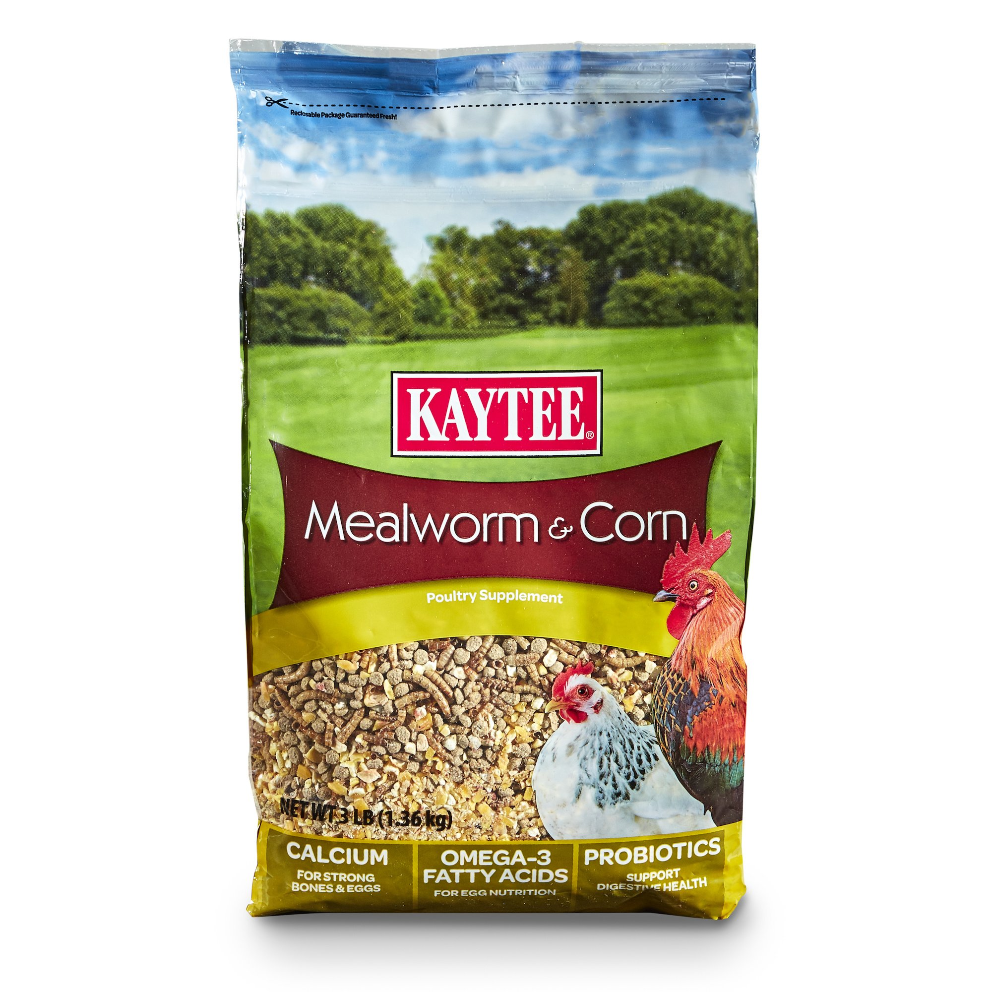 Kaytee Mealworms and Corn Treat, 3 Pound by Kaytee (Image #1)