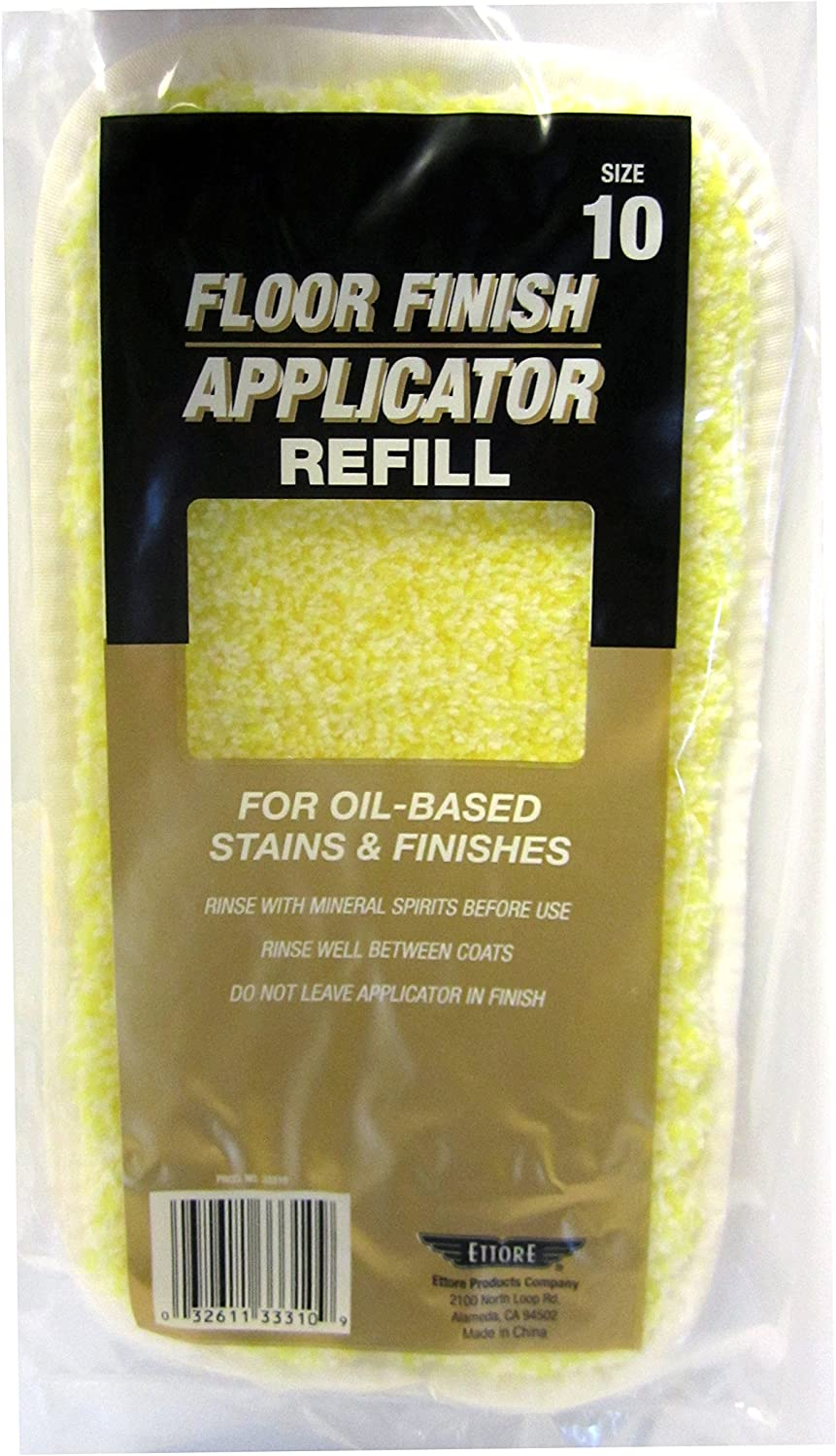 Ettore 33312 Oil-Based Floor Finish Applicator Refill 1-Count