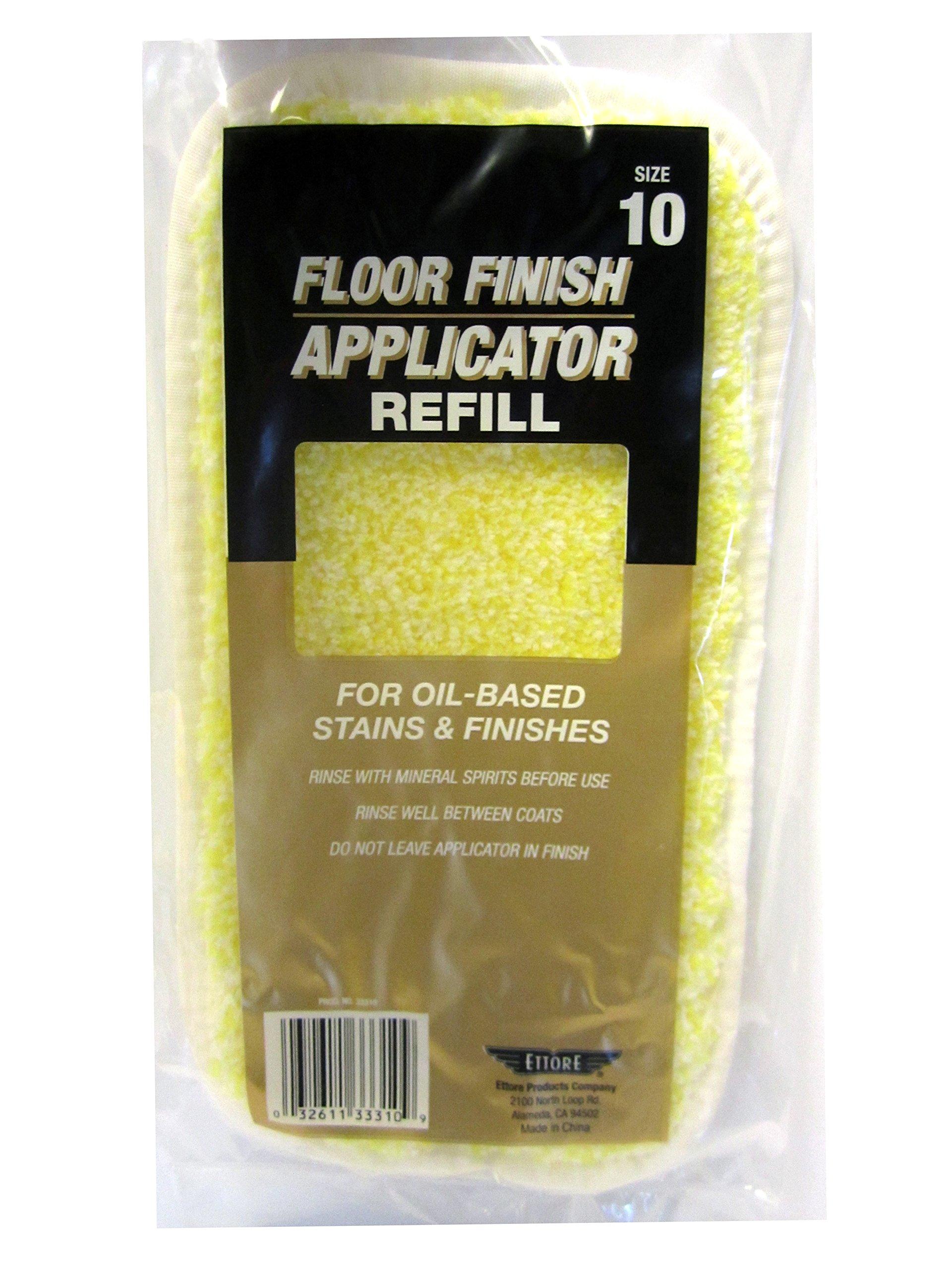 Ettore 33310 10-Inch Oil-based Floor Finish Applicator Refill