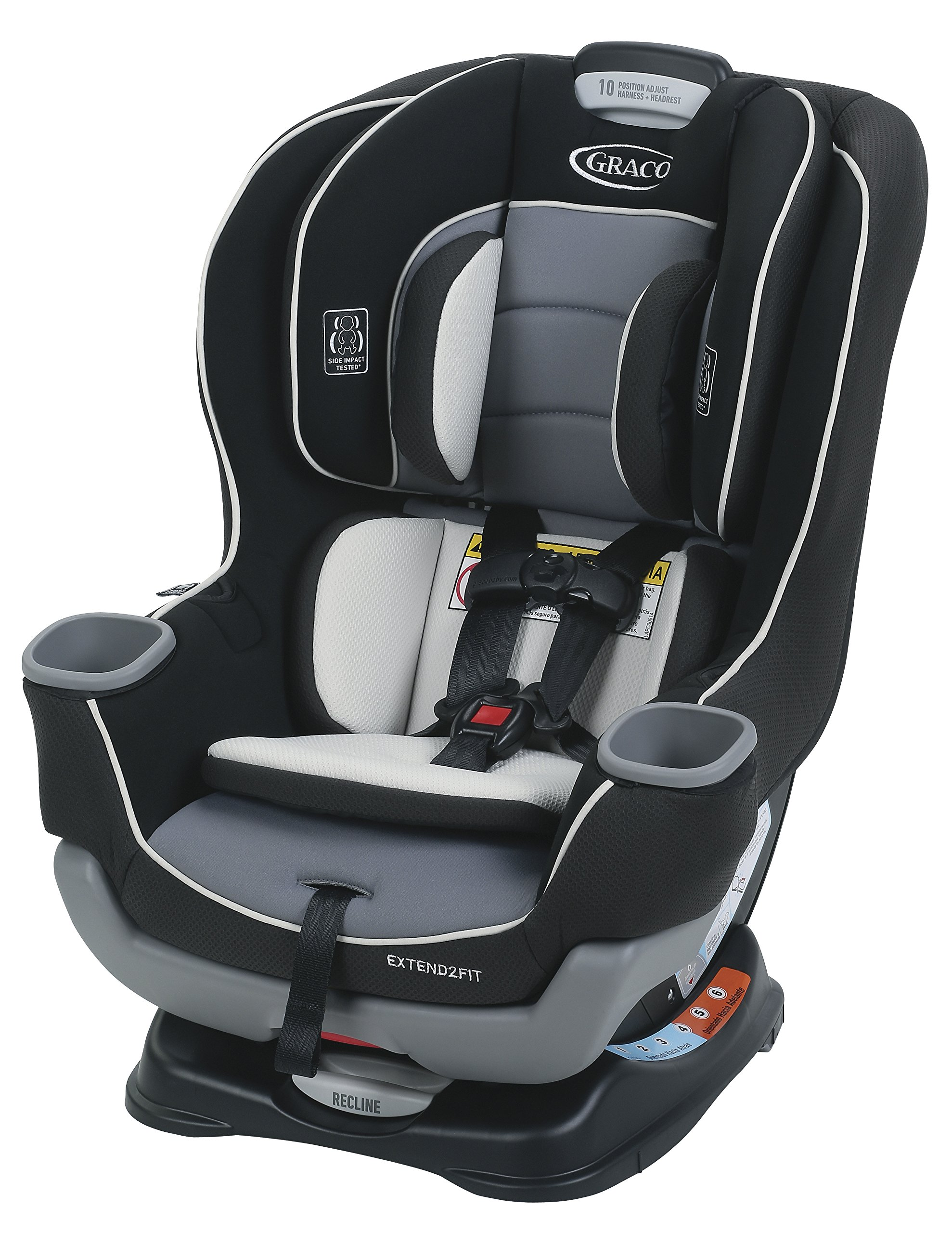 Graco Extend2Fit Convertible Car Seat Gotham One Size