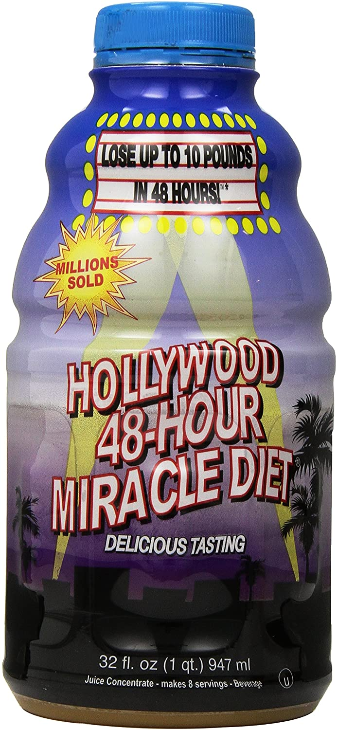 juice fast hollywood diet