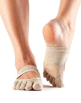 Toesox Full Toe Releve Calcetines de Yoga, Unisex Adulto ...