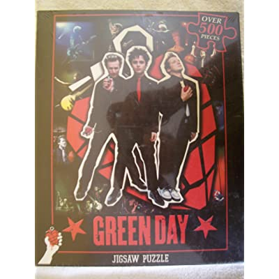 ICUP 30326 GREEN DAY Jigsaw Puzzle: Toys & Games